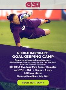 NB Goalkeeping Camp - July