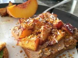 Peach_toast