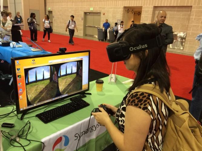 Oculus Rift at ISTE
