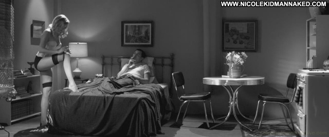 Malin Akerman Nude Sexy Scene Hotel Noir Table Stockings Bed
