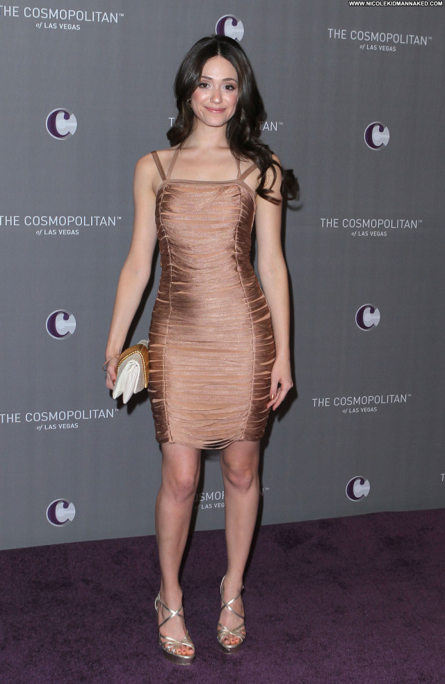 Emmy Rossum Las Vegas Babe Beautiful Celebrity Posing Hot High