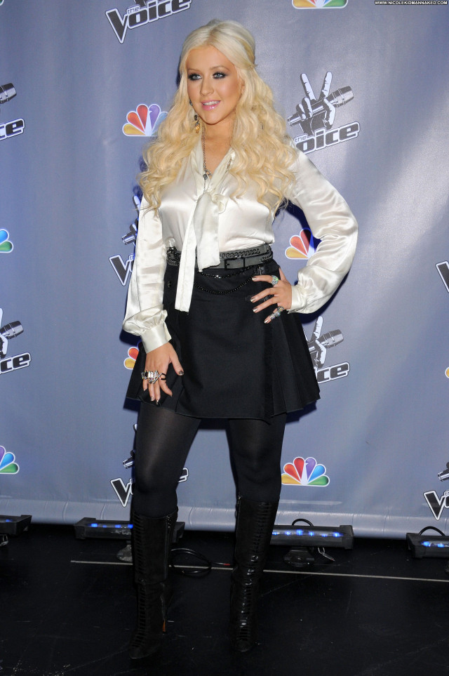 Christina Aguilera Beautiful Posing Hot Celebrity Babe Female Sexy
