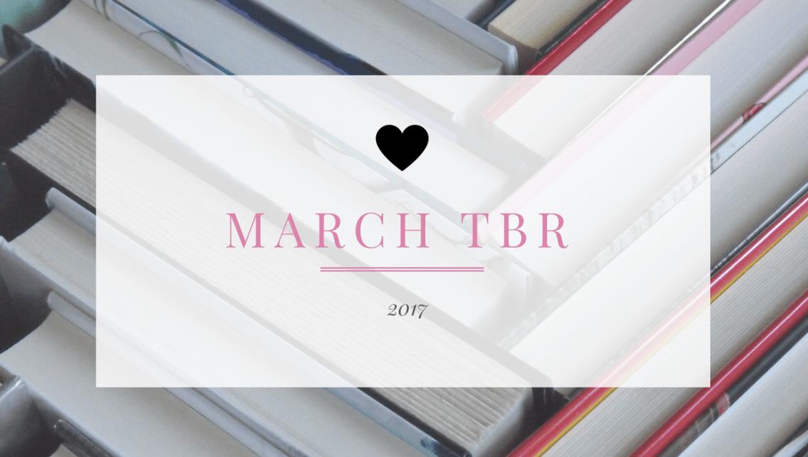 March TBR header image