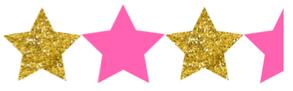 three and a half stars