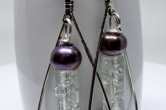 Vintage Glass and Pearl