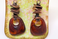 Vintage Lucite and Copper