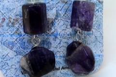 Amethyst and Vintage Glass