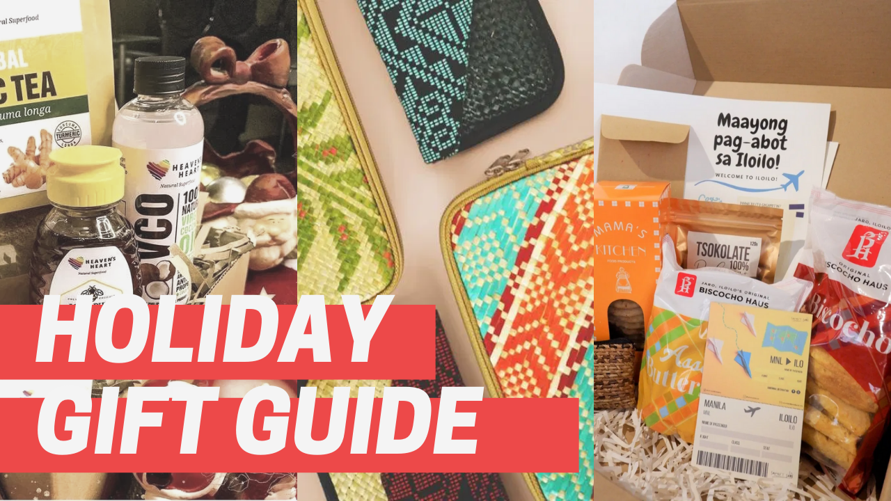 Holiday Gift Guide Featuring Local Products Under PHP 1000