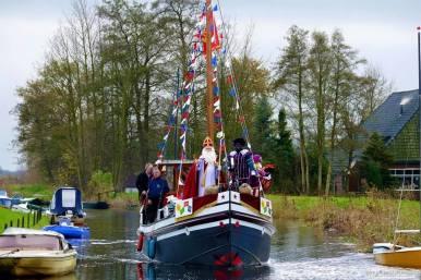 Sinterklaas dec 2015 op St Michael
