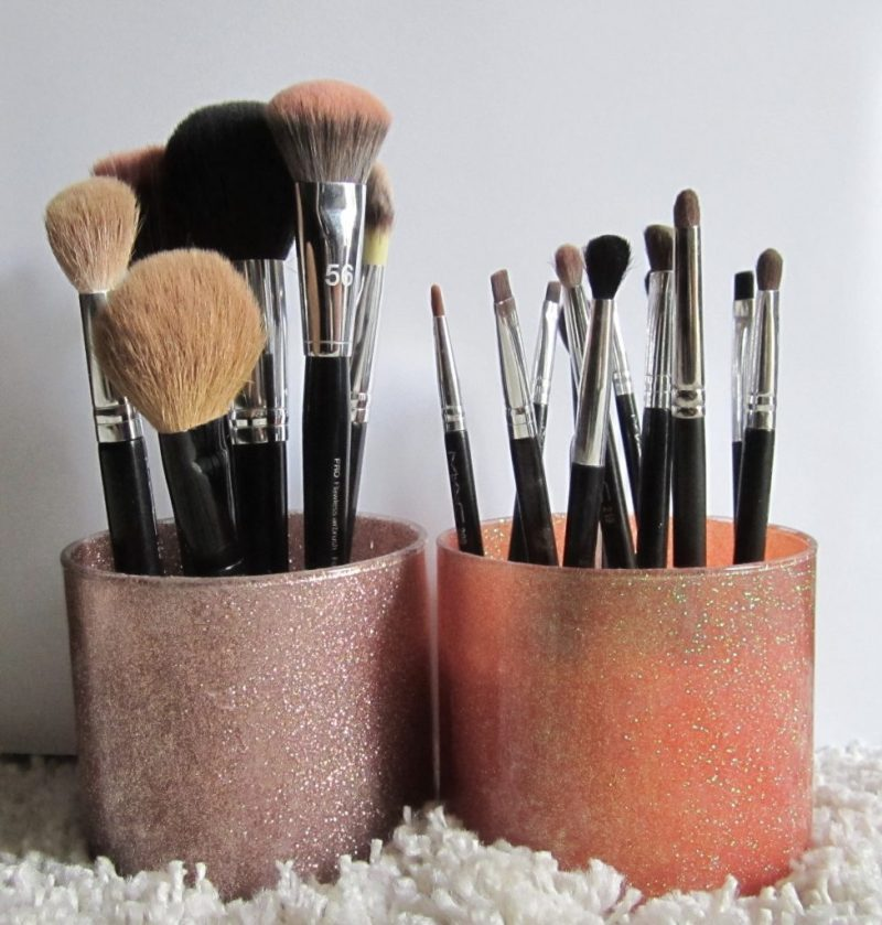 Diy Makeup Brush Holder Nt Marketing