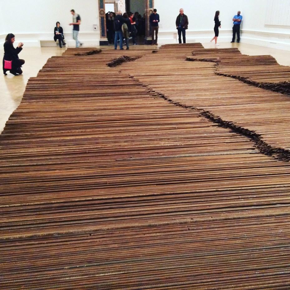"""Ai Weiwei, """"Straight"""" (2008-12)"""