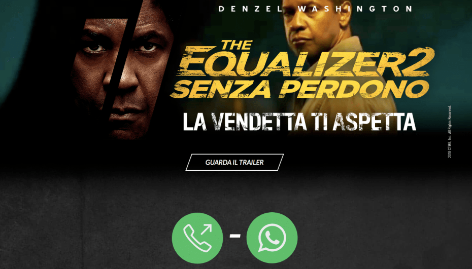 "Home page for ""La vendetta ti aspetta"""