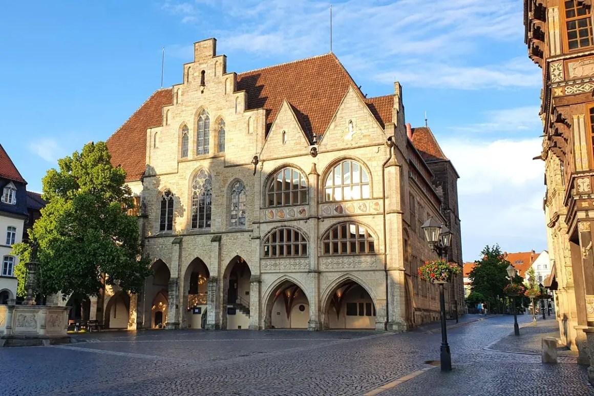 stadhuis in hildesheim