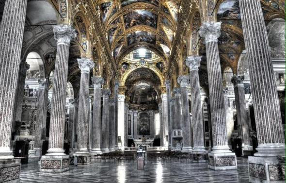 La basilica della Santissima Annunziata del Vastato