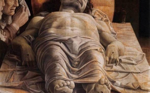 Cristo morto, di Andrea Mantegna