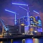 Elbphilharmonie - Hamburg bei Nacht