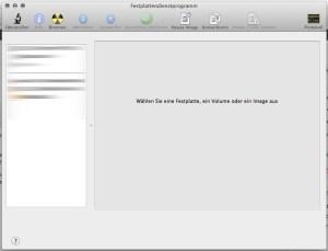 ISO Dateien brennen - Festplattendienstprogramm unter Mac OS X