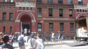 De La Salle at its new location - formerly the Holy Cross School - at the 42nd Street!
