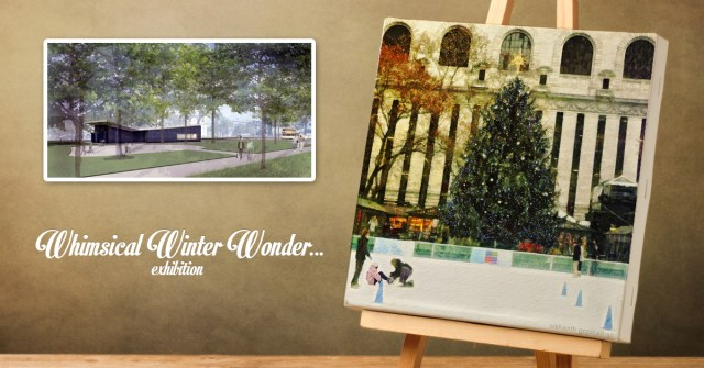 Whimsical Winter Wonder...Exhibition