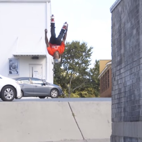 USD Sway Montre Livingston Pro Boot Promo - Backflip Safety Grab