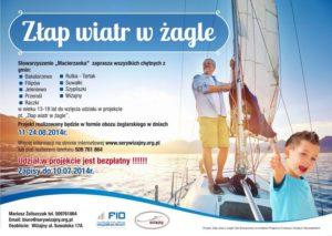 Plakat Zlap Wiatr w Zagle