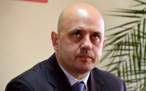 Na zdj. Grzegorz Gorlo, kandydat na prezydenta Suwałk.