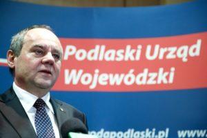 Na zdj. Andrzej Meyer (fot. Podlaski Urząd Wojewódzki).