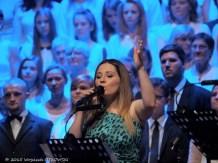 Jedną z solistek była Gabriela Gąsior, która w SOK prowadziła warsztaty gospel.