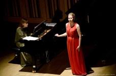 "Maja Konstancja Kamieńska i ""Summertime"" G. Gershwina."