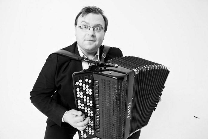 Rafał Grząka, akordeon, #suwalki, Atom String Quartet, Atom Accordion Quintet