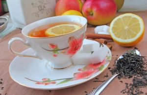 filiżanka, herbata