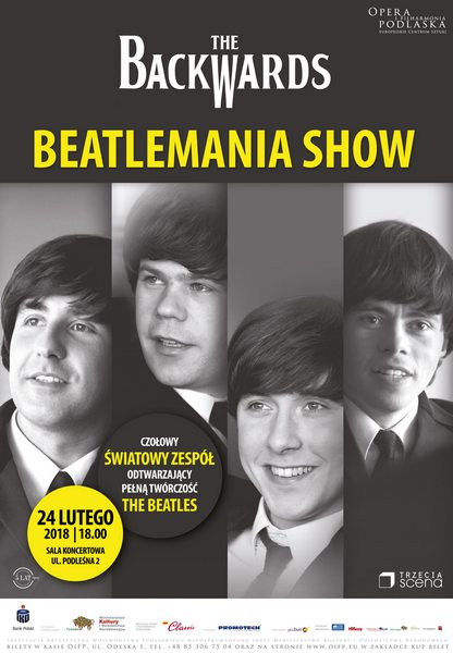 The Beatles Polska: 24 lutego w Operze i Filharmonii Podlaskiej zagra grupa The Backwards + konkurs