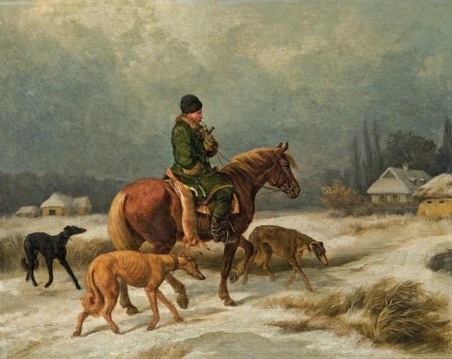 Juliusz Kossak, Z polowania
