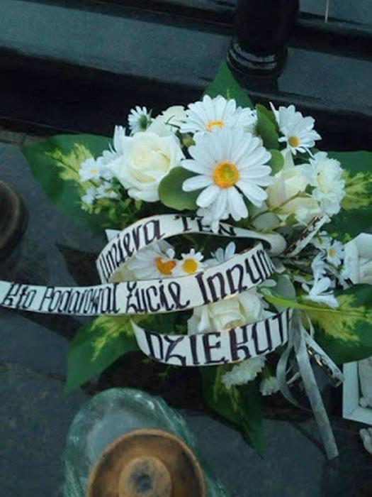 Rok po transplantacji serca Joanna Prorok odwiedziła grób dawcy