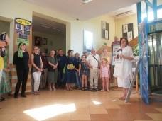08 VI 2019, Suwałki - Biblioteka Publiczna - Maria Kołodziejska otwiera Noc Bibliotek © 2019 Wojciech Otłowski