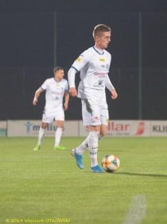 18 X 2019 ; Suwałki - Stadion Miejski; I liga, Wigry S. - Odra Opole 1:0; przy piłce Grzegorz Aftyka © 2019 Wojciech Otłowski