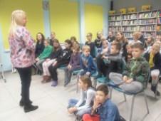 22 XI 2019, Suwałki - Biblioteka Publiczna; Spotkanie z Agnieszką Frączek © 2019 Katarzyna Otłowska