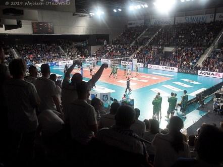 23 XI 2019; Suwałki Arena; Plus Liga; Ślepsk Malow - Indykpol AZS Olsztyn 3:1; kibice © 2019 Wojciech Otłowski