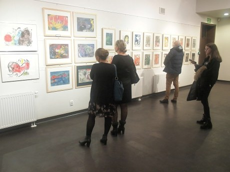 wystawa grafik Marca Chagalla