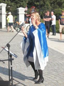15 VIII 2020 , Obchody 300-lecia Miasta Suwałki - Suwałki Gospel Choir -Anna Szafranowska © 2020 Wojciech Otłowski