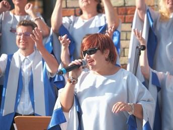 15 VIII 2020 , Obchody 300-lecia Miasta Suwałki - Suwałki Gospel Choir © 2020 Wojciech Otłowski