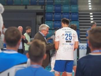 22 VIII 2020; Suwałki Arena; XI Memoriał Gajewskiego - mecz Ślepsk Malow Suwałki - AZS Indykpol Olsztyn 3:1 © 2020 Wojciech Otłowski
