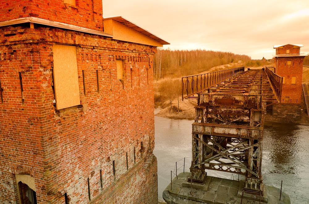 Geležinkelio tiltas per Ventos upę