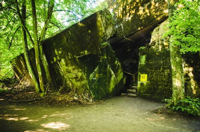 Įėjimas į Göringo bunkerį