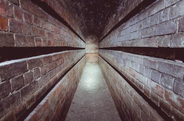 Amunicijos sandėlio ventiliacinis tunelis