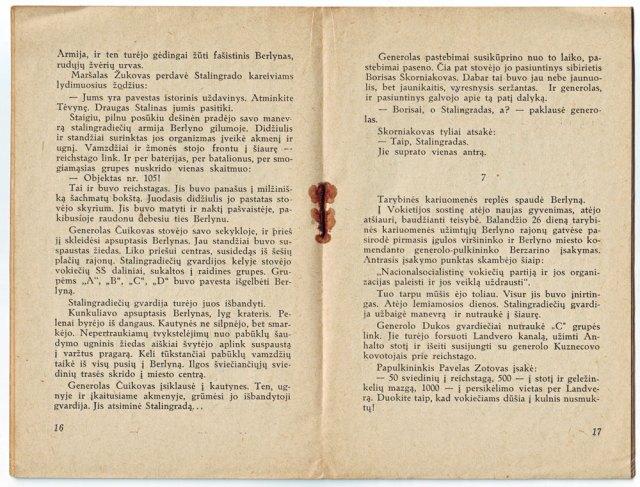 Ištrauka iš knygelės