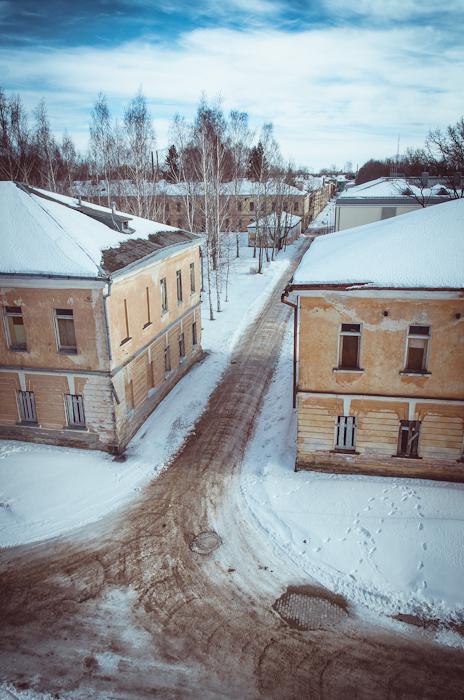 Ligoninės gatvės perspektyva