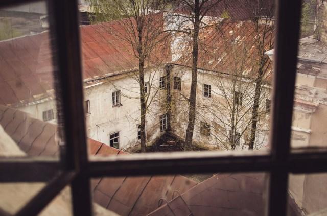 Apleistas vizitiečių vienuolynas