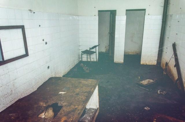 Tuščias neaiškios paskirties kambarys