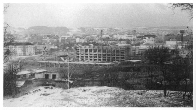 Sporto rūmų statybos. 1965-1971 m.